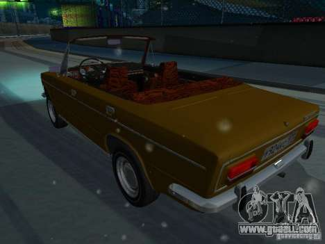 VAZ 2103 Convertible for GTA San Andreas left view