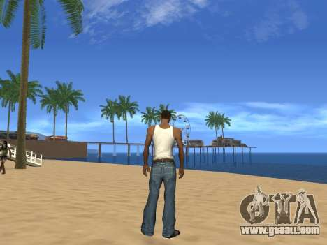 Disabling effects of heat for GTA San Andreas