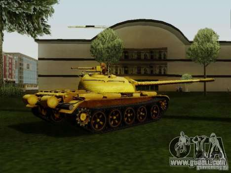 Type 59 GOLD Skin for GTA San Andreas left view