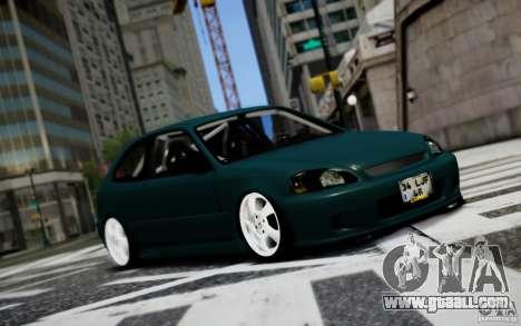 Honda Civic 1.4iES HB 1999 for GTA 4
