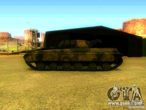Tank game S. T. A. L. k. e. R for GTA San Andreas right view