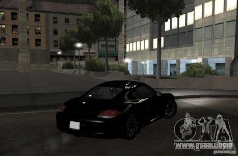 Porsche Cayman R for GTA San Andreas back view