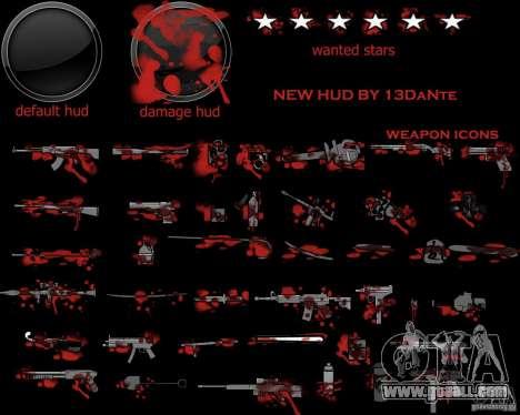 New Hud v.2.0 for GTA San Andreas