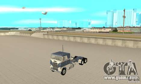 White Freightliner Extended Wheel Base for GTA San Andreas