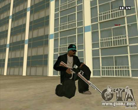 Chrome Weapon Pack for GTA San Andreas eighth screenshot