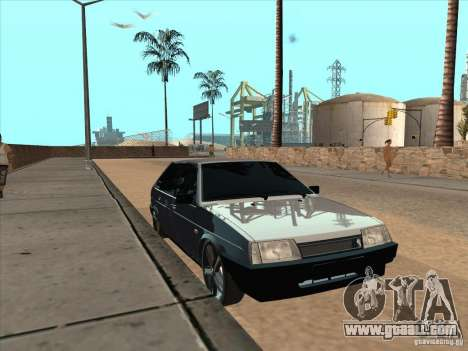 VAZ 21093i Light Tuning for GTA San Andreas left view