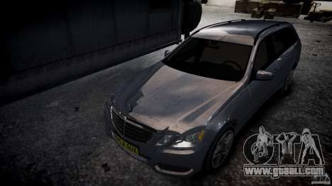 Mercedes E-Class wagon for GTA 4 back view