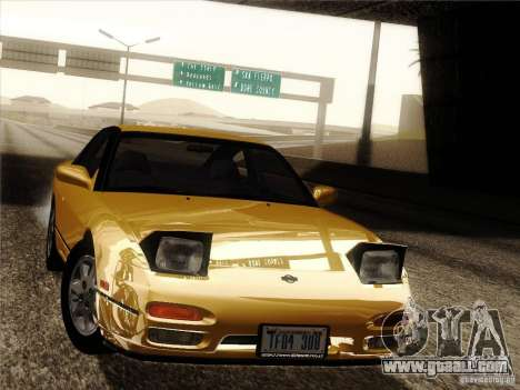 Nissan 240SX S13 - Stock for GTA San Andreas wheels