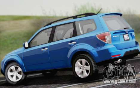 Subaru Forester XT 2008 for GTA San Andreas back view