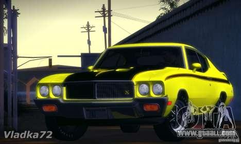 Buick GSX 1970 v1.0 for GTA San Andreas