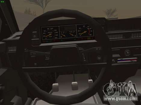 VAZ 21083i for GTA San Andreas engine