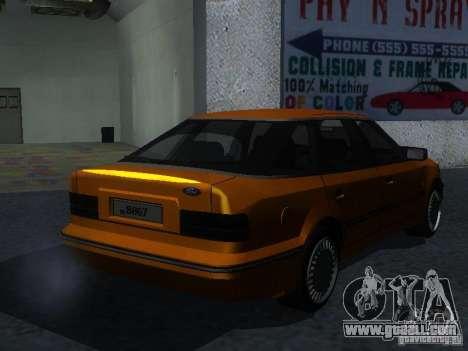 Ford Sierra Mk1 Sedan for GTA San Andreas back left view