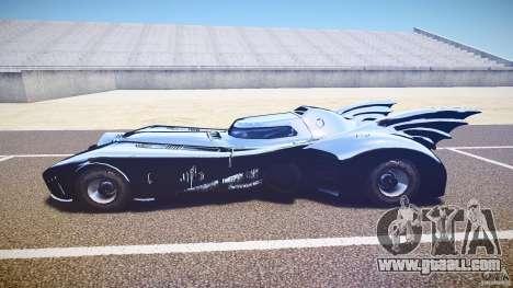 Batmobile v1.0 for GTA 4 back left view