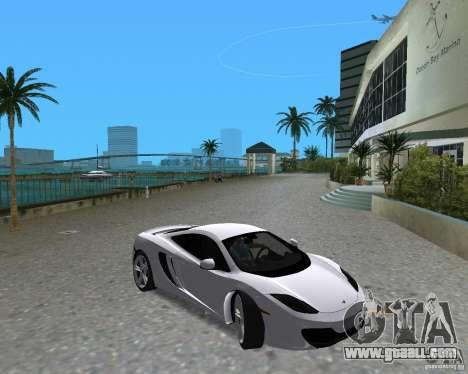 McLaren MP4-12c for GTA Vice City