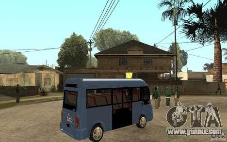 Karsan J10 for GTA San Andreas right view