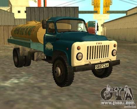 GAZ 53-12 TRUCK-3 for GTA San Andreas