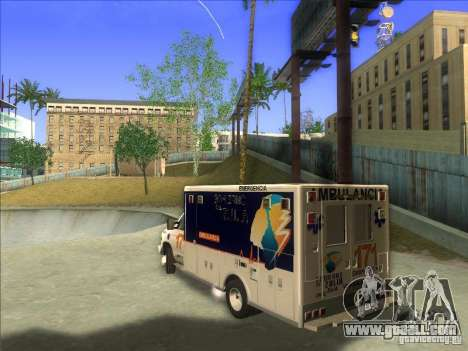 Ford E-350 Ambulance for GTA San Andreas left view
