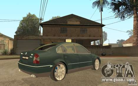 Volkswagen Passat B5+ W8 4Motion for GTA San Andreas right view