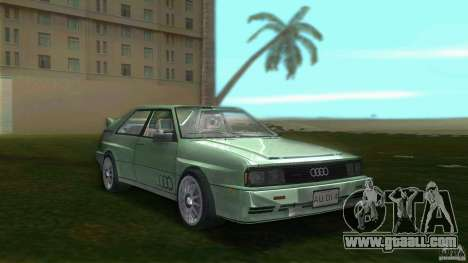 Audi Quattro for GTA Vice City
