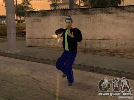 Skins Gopnik for GTA San Andreas forth screenshot