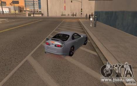 Toyota Supra Mark IV for GTA San Andreas left view
