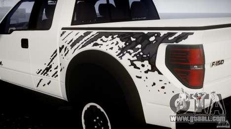 Ford F150 SVT Raptor 2011 for GTA 4