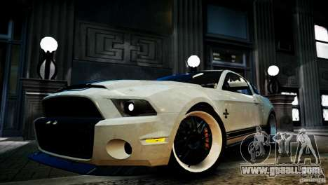 Shelby GT500 Super Snake NFS Edition for GTA 4