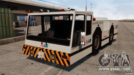 FlyUS Tugs Pack for GTA 4 back left view