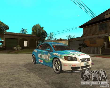 VOLVO C30 STCC for GTA San Andreas right view