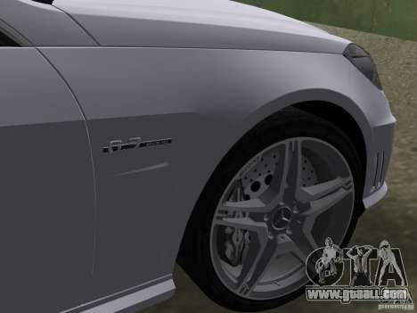 Mercedes-Benz E63 AMG for GTA Vice City side view