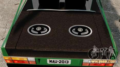 Volkswagen Gol GL 1992 Edit for GTA 4 side view