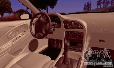 Eagle Talon TSi AWD 1998 for GTA San Andreas side view