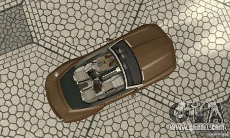 Chevrolet Camaro Concept 2007 for GTA San Andreas back view