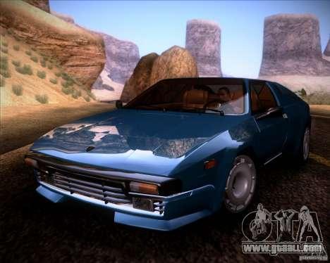 Lamborghini Jalpa 3.5 1986 for GTA San Andreas