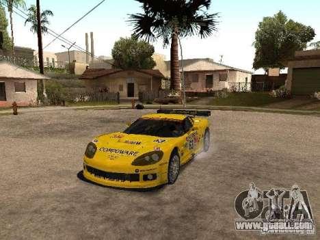 Chevrolet Corvette C6-R for GTA San Andreas