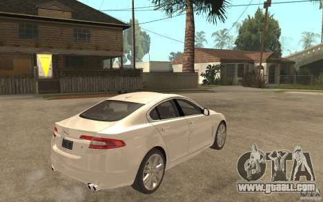 Jaguar XFR for GTA San Andreas right view
