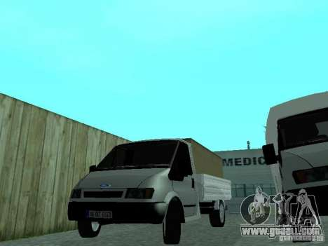 Ford Transit 2005 for GTA San Andreas back left view