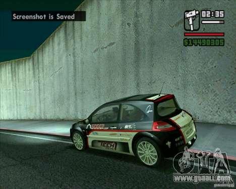 Renault Megane II RS for GTA San Andreas left view