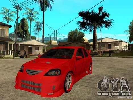 Dacia Logan Tuned v2 for GTA San Andreas