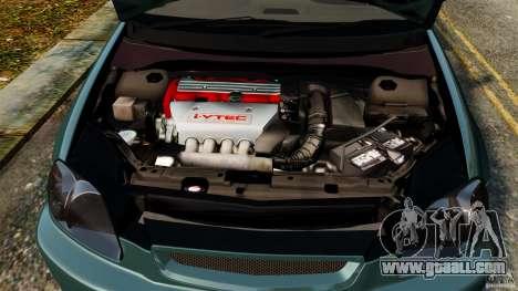 Honda Civic Type R (EK9) for GTA 4 side view