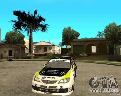 Ken Block Subaru Impreza WRX STi 2009 for GTA San Andreas