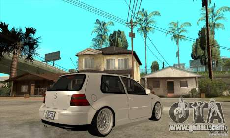 VW Golf 4 V6 Bolf for GTA San Andreas right view