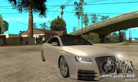 Audi S5 Quattro Tuning for GTA San Andreas back view