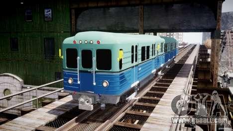 Russian Metro for GTA 4