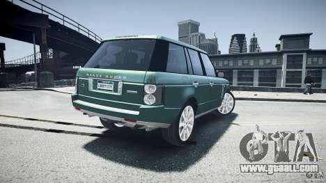 Range Rover Supercharged v1.0 for GTA 4 bottom view