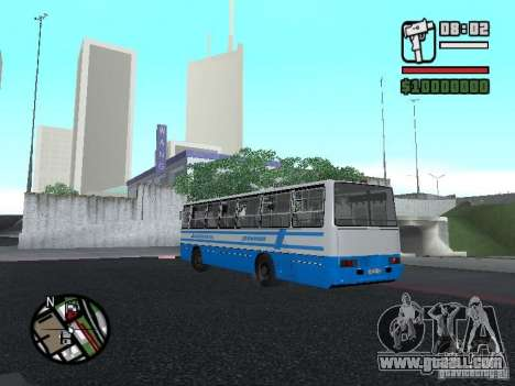 Ikarus 260 safety for GTA San Andreas right view