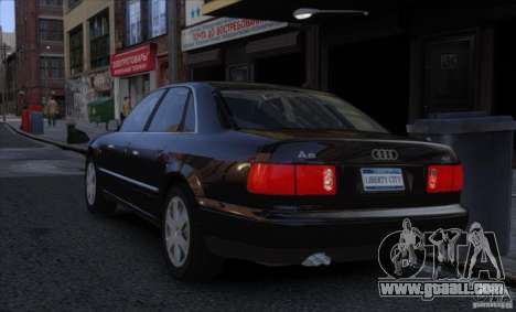 Audi A8 2000 for GTA 4 left view