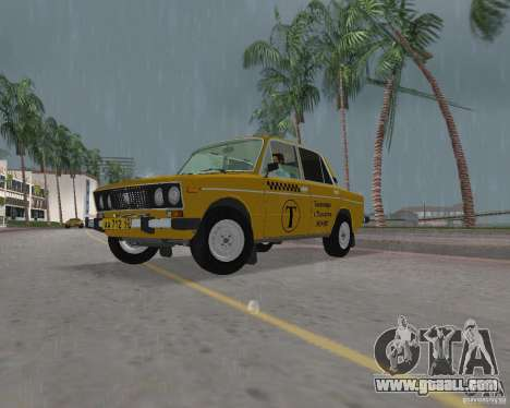 Vaz 2106 Taxi for GTA Vice City