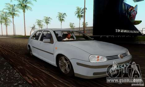 Volkswagen Golf 4 1.6 for GTA San Andreas right view