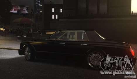 Bentley Arnage T v 2.0 for GTA 4 back view